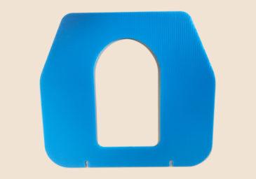 楽レット 便座はプラスチックで衛生的